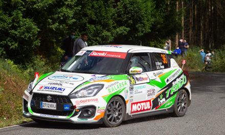 Victoria de Fernando Rico en la Copa Suzuki Swift dentro del 51 Rallye de Ferrol – Suzuki
