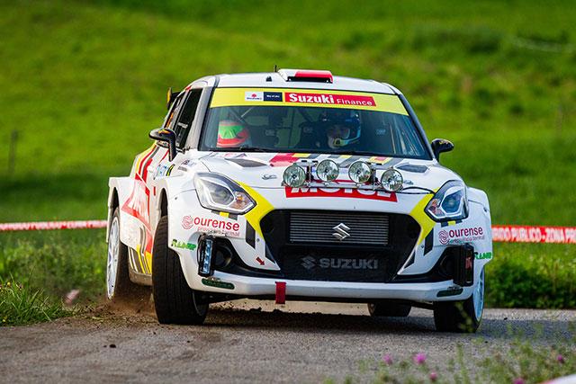 Remontada de Javier Pardo y Adrián Pérez en el 57 Rally Princesa de Asturias
