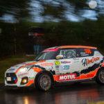 Victoria de Pablo Pazó en la Copa Suzuki Swift dentro del Rallye Rías Altas