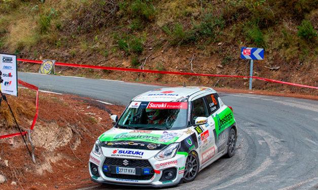 Miguel García gana la Copa Suzuki Swift 2020 y David Cortés el 26 Rallye de La Nucía