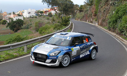 Suzuki en la tercera plaza del Campeonato de España de Rallyes.