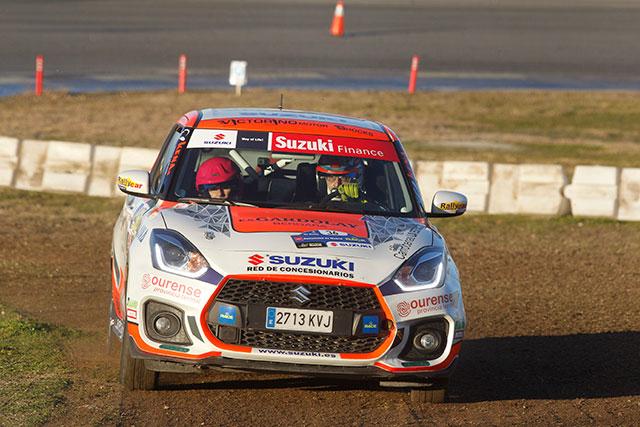 Victoria de Aingeru Castro en el Rallye de Madrid dentro de la Copa Suzuki Swift