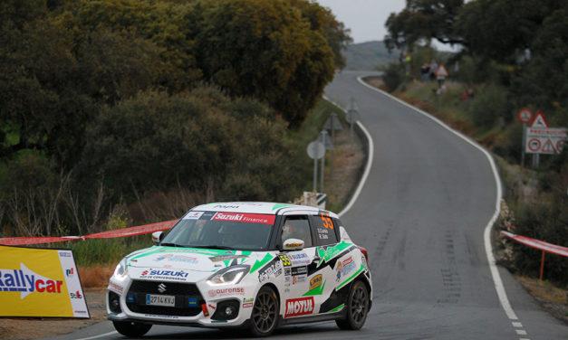 Copa Suzuki Swift 2021, victoria de David Cortés en el 38 Rallye Sierra Morena