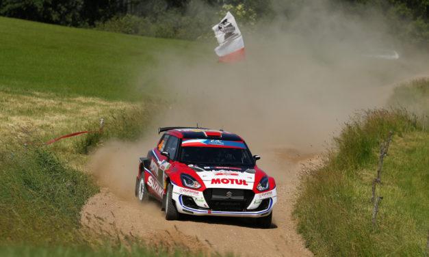 El Equipo Suzuki en el Rallye de Ourense
