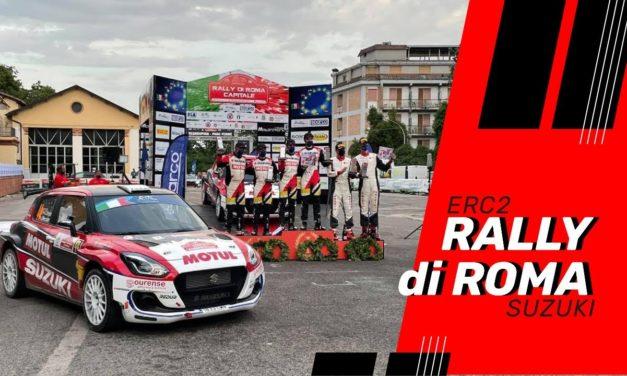 Video de la participación en el 9 Rally di Roma Capitale