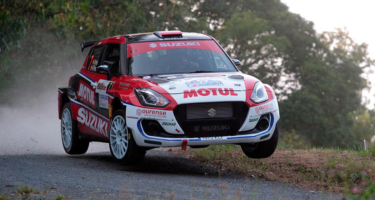 Rallye de Ferrol Suzuki, en el podium del S-CER y TER