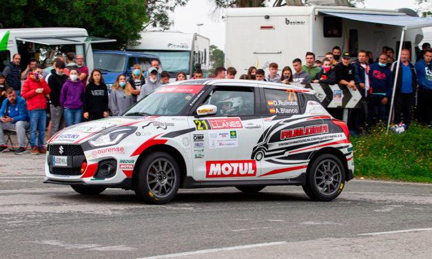 Diego Ruiloba gana un luctuoso Rallye de Llanes