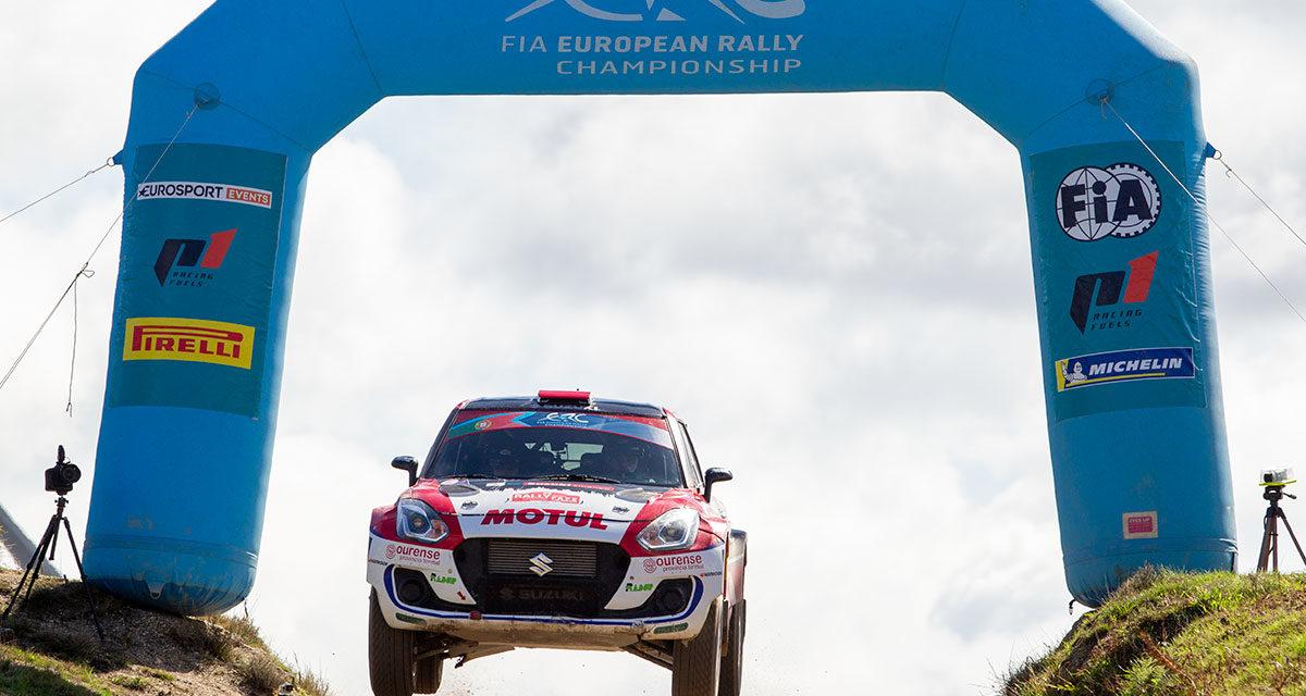Rally Serras de Fafe, 2021 podium Suzuki en el ERC2