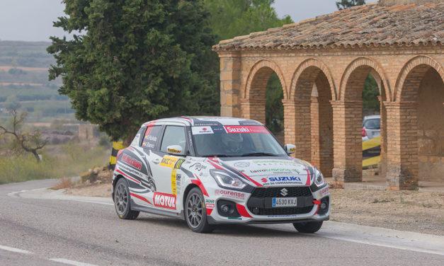 RallyRACC. Victoria final de Diego Ruiloba en la Copa Suzuki Swift y en la Junior Terratraining